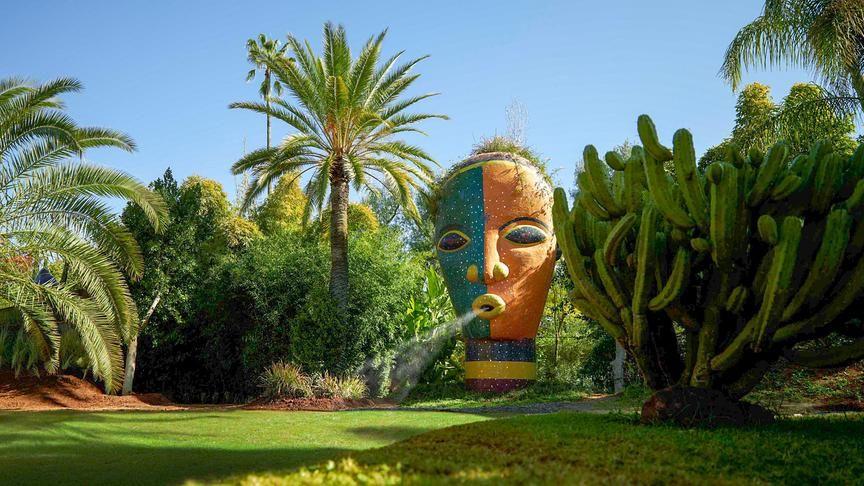 Anima Andre Hellers Paradies In Marrakesch Paradiesgarten Anima Marrakesch Bilder Marokko
