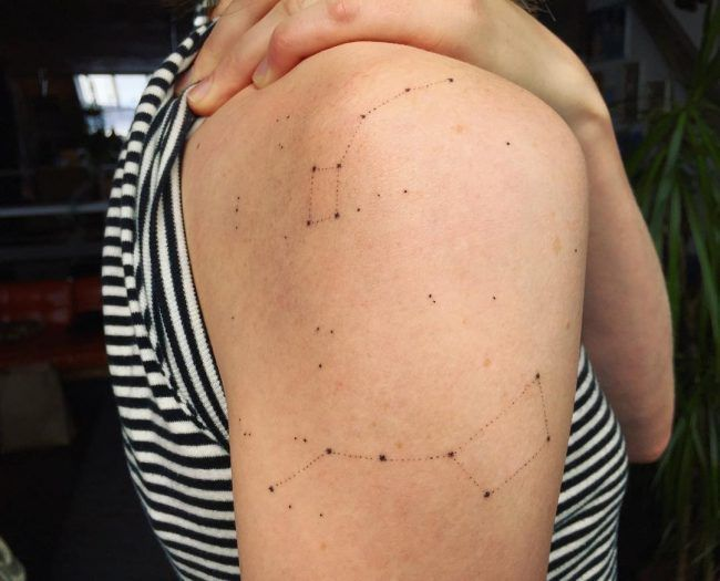 Photo of 70+ beautiful constellation tattoo ideas – where mysteries of the universe body art …