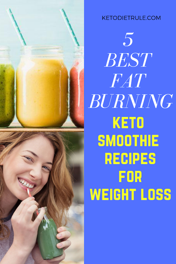 Keto Smoothie Recipes - 5 Best Low-Carb Smoothies for Weight Loss