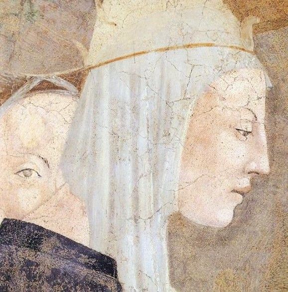 piero  d e l l a  f r a n c e s c a  I452-66   finding and recognition of the true cross (detail)