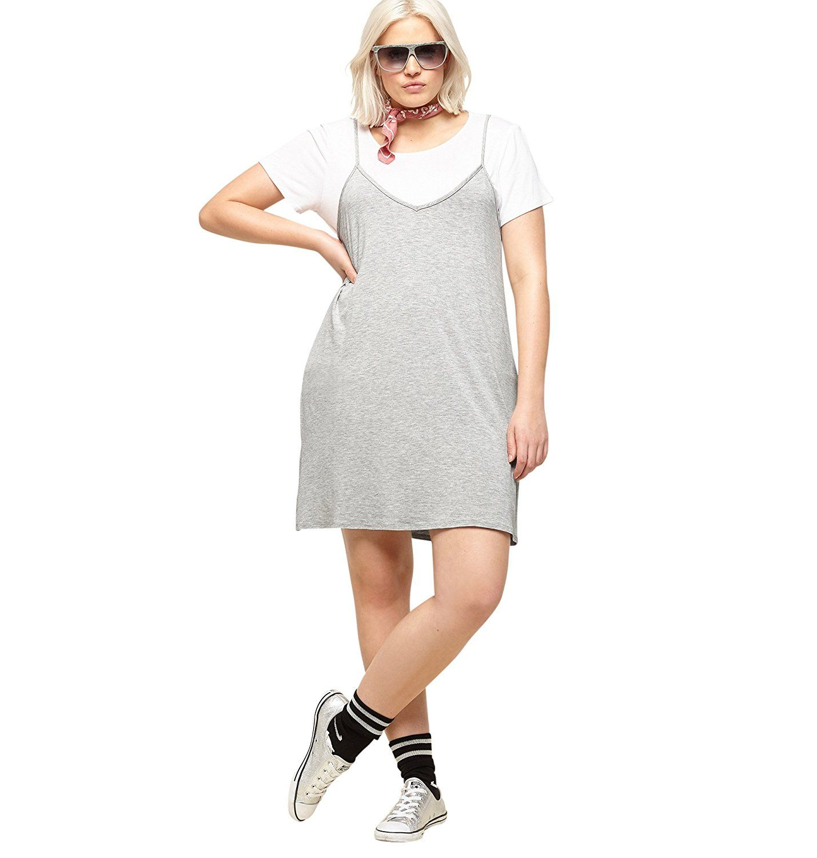 8c5cc59d5fb7 LORALETTE Women's T-Shirt Slip Dress,Avenue,035490199 | womens ...