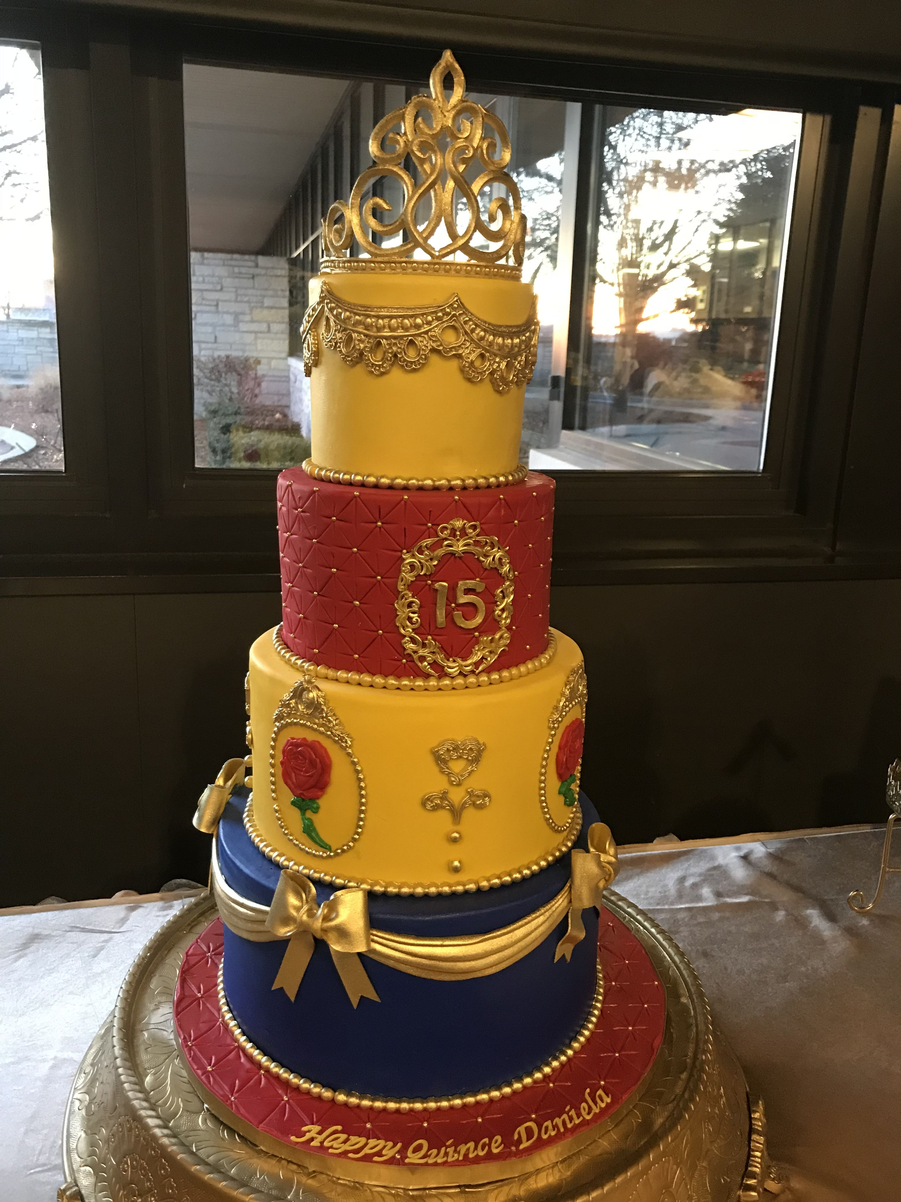 Beauty And The Beast Quince Cake Beauty And The Beast Wedding