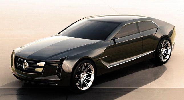 Designer Envisions New Cadillac C-Ville Luxury Sedan Concept