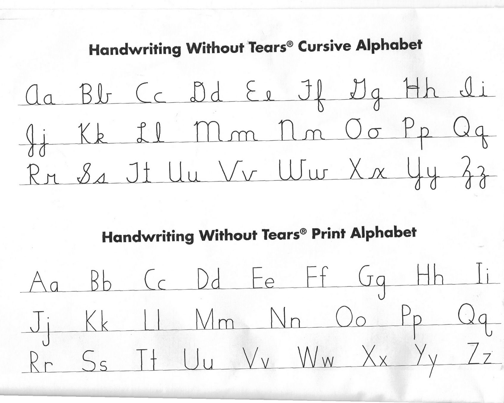 Collection of Writing Without Tears Worksheets - Sharebrowse
