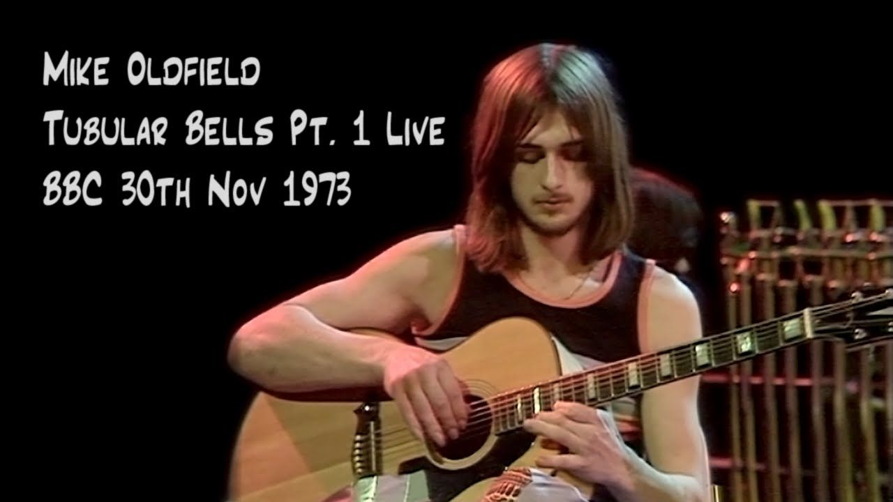 Mike Oldfield 'Tubular Bells' Live at the BBC 1973 (high