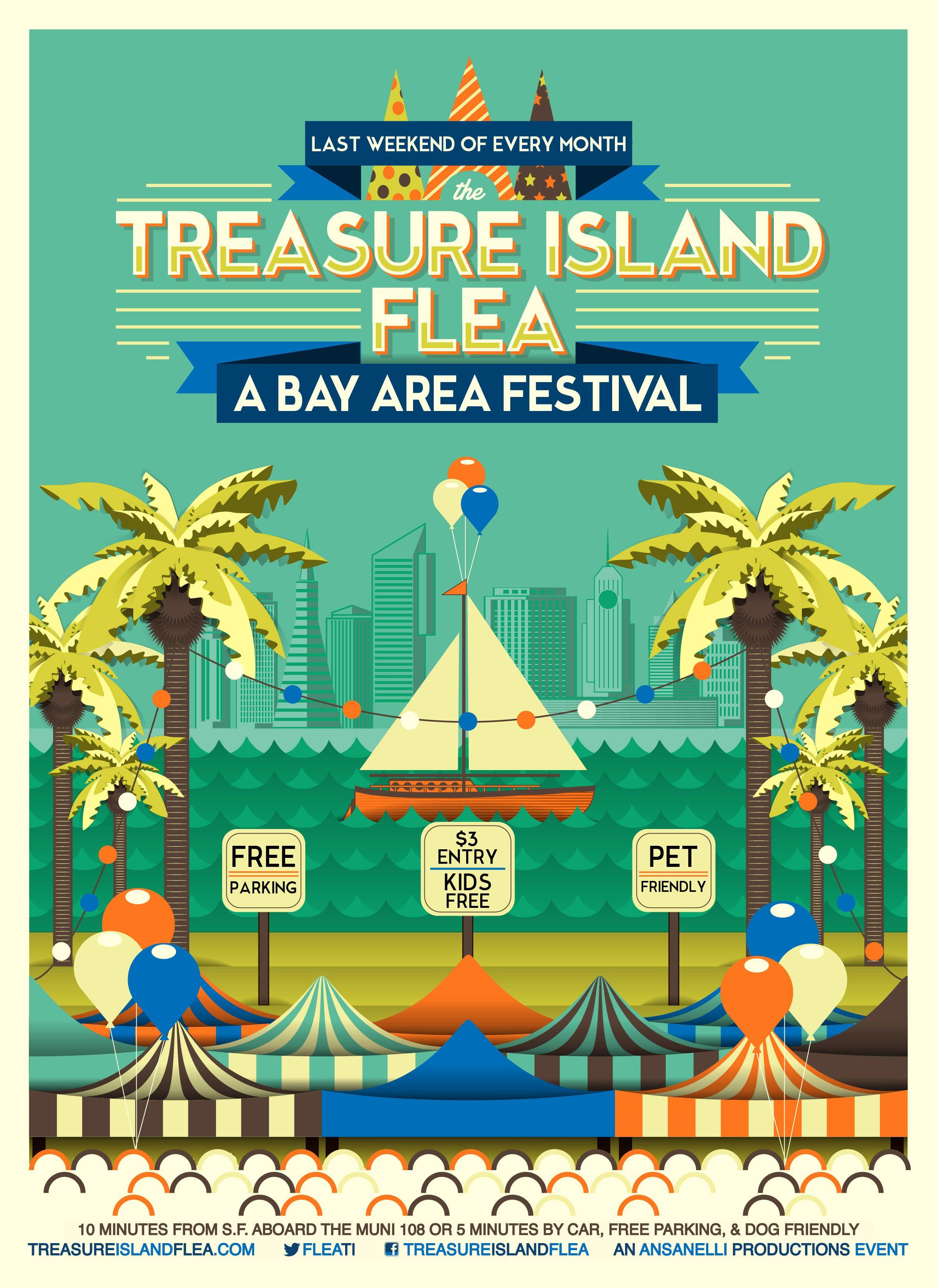 Treasure Island Flea San Francisco Flea Market Festival Food Truck Treasure Island City Guide San Francisco Fleas