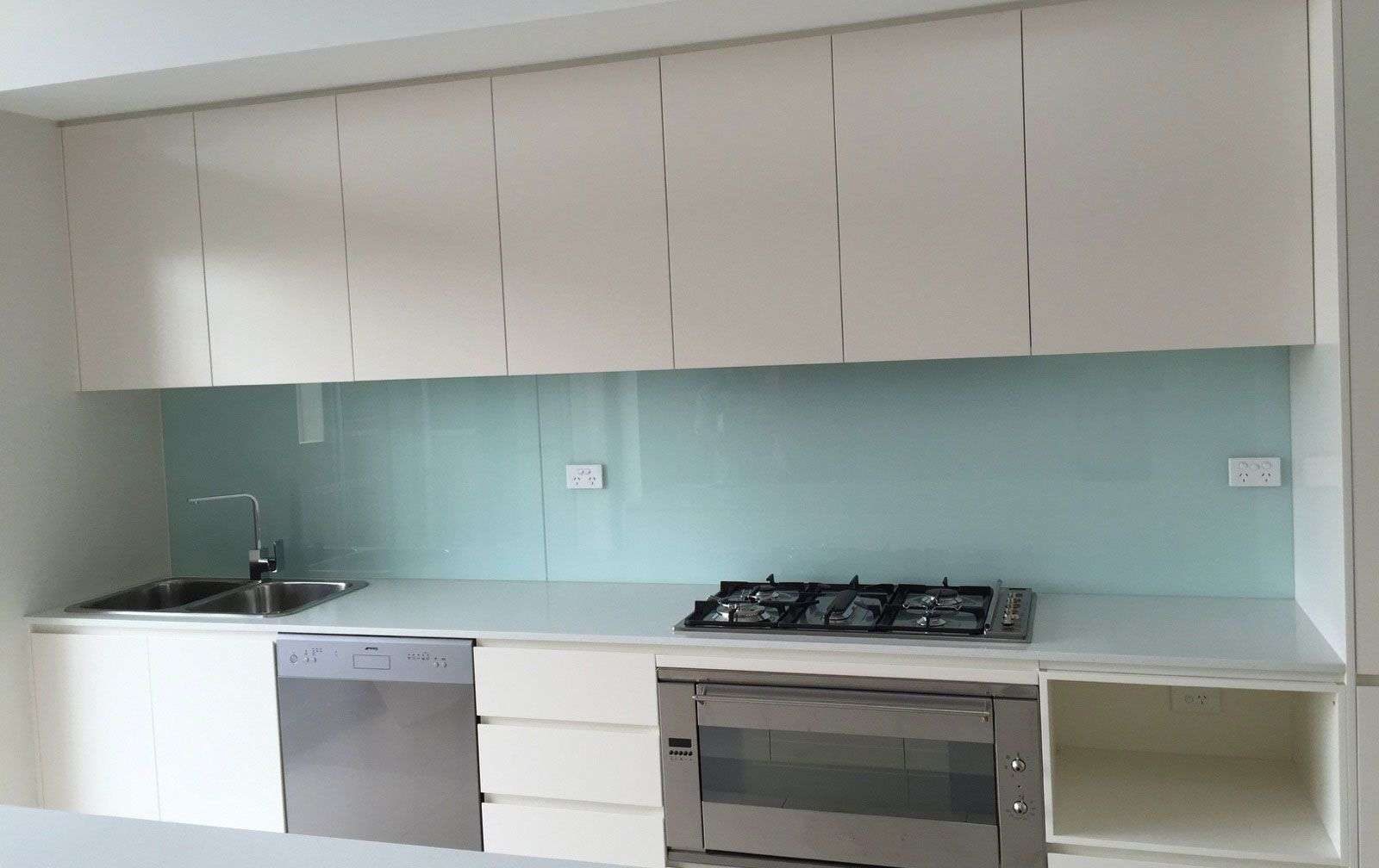 glass splashbacks for kitchen sydney victoria glass | appartments ...