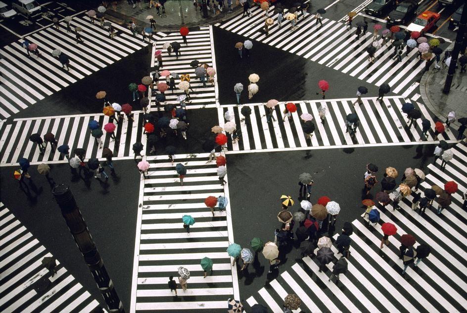 Tokyo, 1996 by Harry Gruyaert