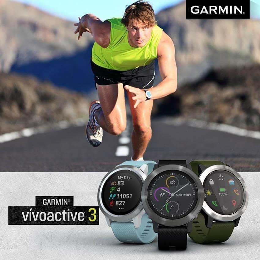 Lebih Dari 15 Aplikasi Gps Dan Olahraga Indoor Termasuk Yoga Berlari Berenang Dan Banyak Lagi Yang Dibawa Oleh Garmin Vivoactive 3 Berlari Olahraga Berenang