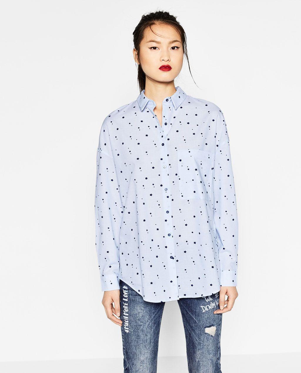 Mine Printed Trf Stars Of Pinterest Wardrobe Shirt Zara gTUqOwYw