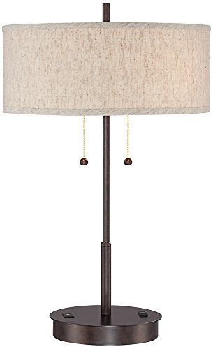 Nikola Bronze Metal Table Lamp with USB Port 360 Lighting https://www.amazon.com/dp/B016QJPA9E/ref=cm_sw_r_pi_dp_x_ZCMQxb9CB42T8