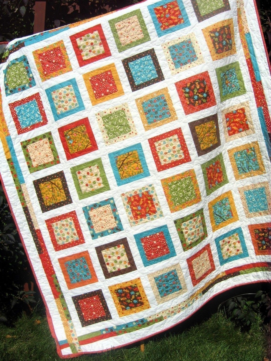 PDF QUILT PATTERN.... Easy...one layer cake Around by sweetjane