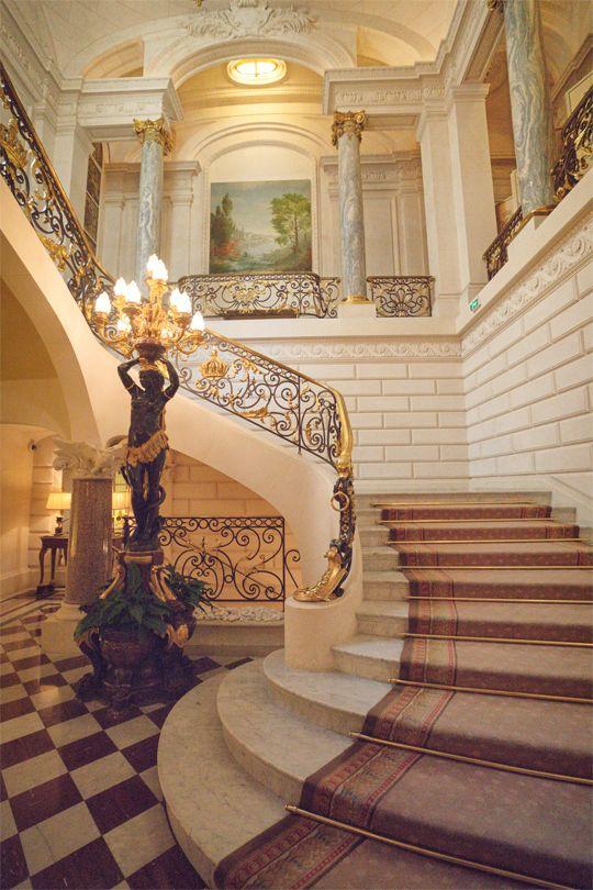 "georgianadesign: "" Shangri-La Hotel Paris by Vivienne Gucwa """