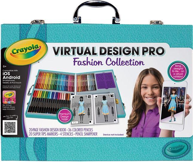 Virtual Design Pro Fashion Collection On Crayola Com Virtual Design Fashion Design Books Kids Design