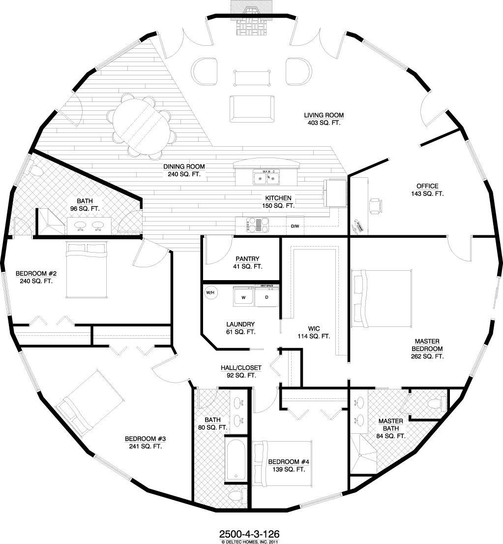 Dome Home Plans: House Plans, Round House