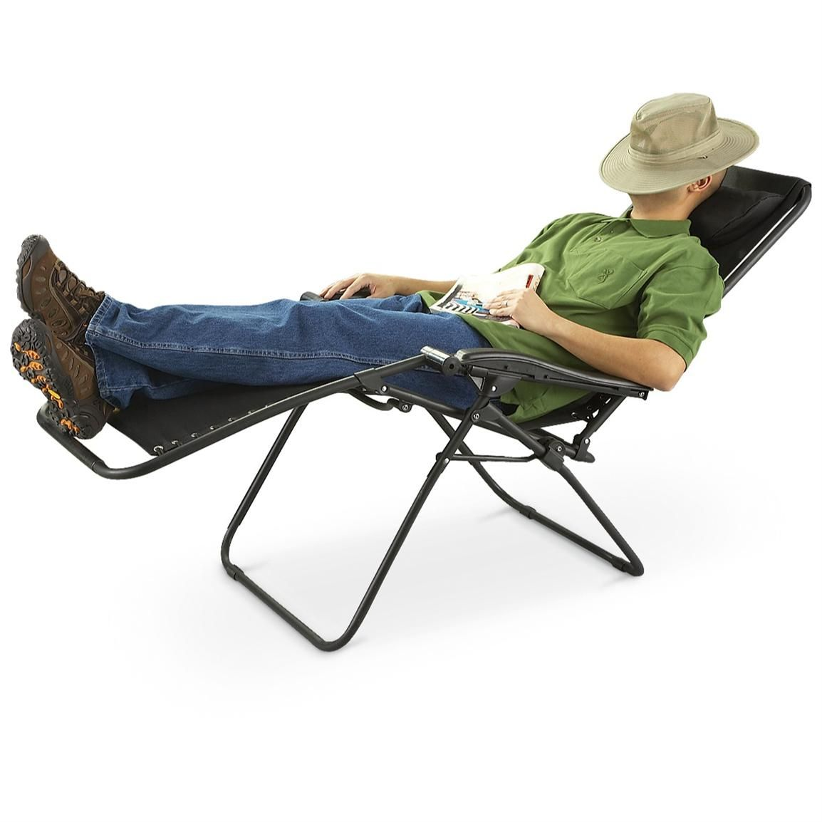 guide gear zero gravity lounger is so comfortable you can sleep in it