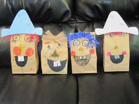 Some of This & Some of That: Paper Bag Scarecrow