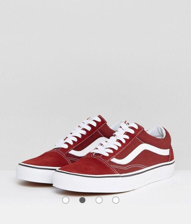 Røde vans sko Almas ønskerSko, Vans og RødAlmas ønsker Sko, Vans og Rød