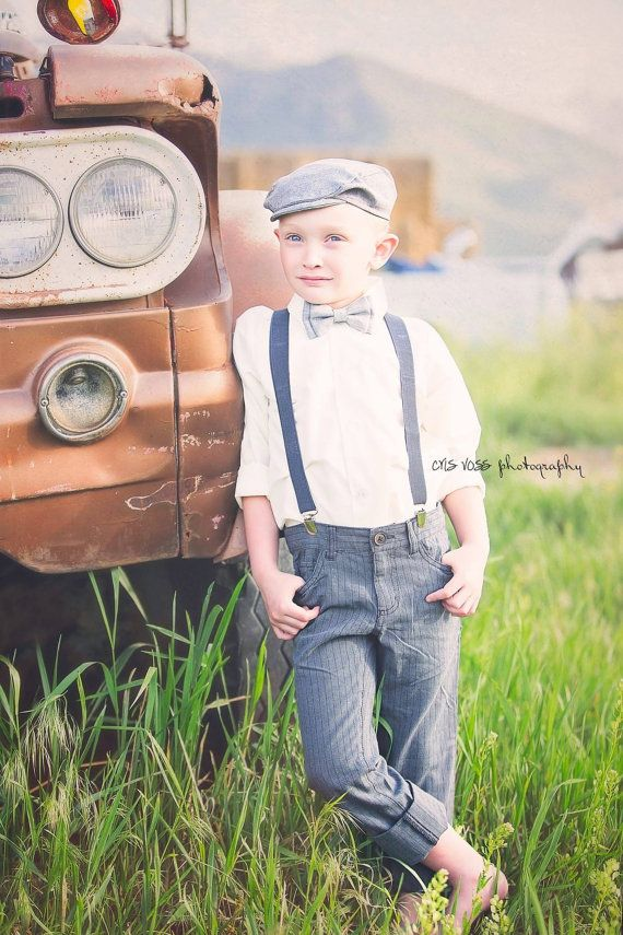 005ca2b53 Hugo Boys Newsboy Hat, Newborn Photo Prop, Boys Cap, Ring Bearer ...