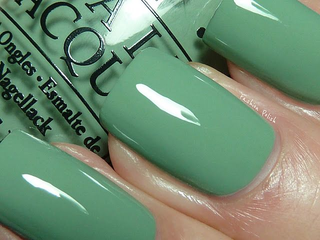 Rocked out this OPI color last week! Changing it up tomorrow, but I ...