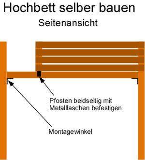 bauanleitung hochbett selber bauen bett pinterest hochbett selber bauen hochbetten und. Black Bedroom Furniture Sets. Home Design Ideas