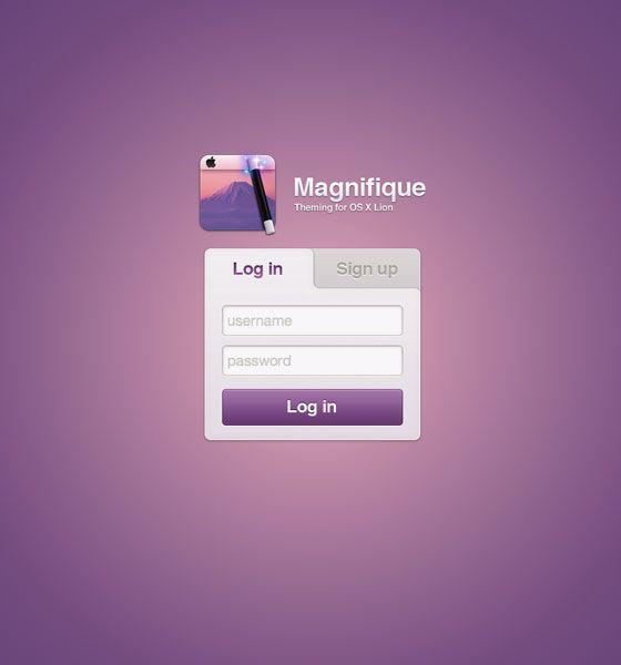 Login Page Design Inspirations UI Pinterest Design