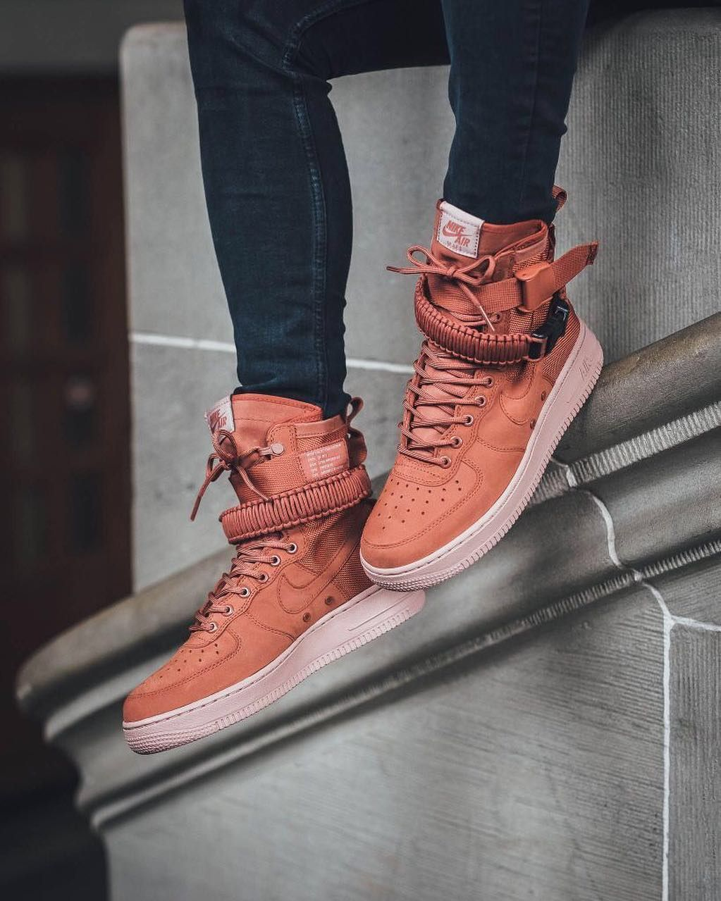 prossimamente: nike air force speciale campo 1 cachi rush coral