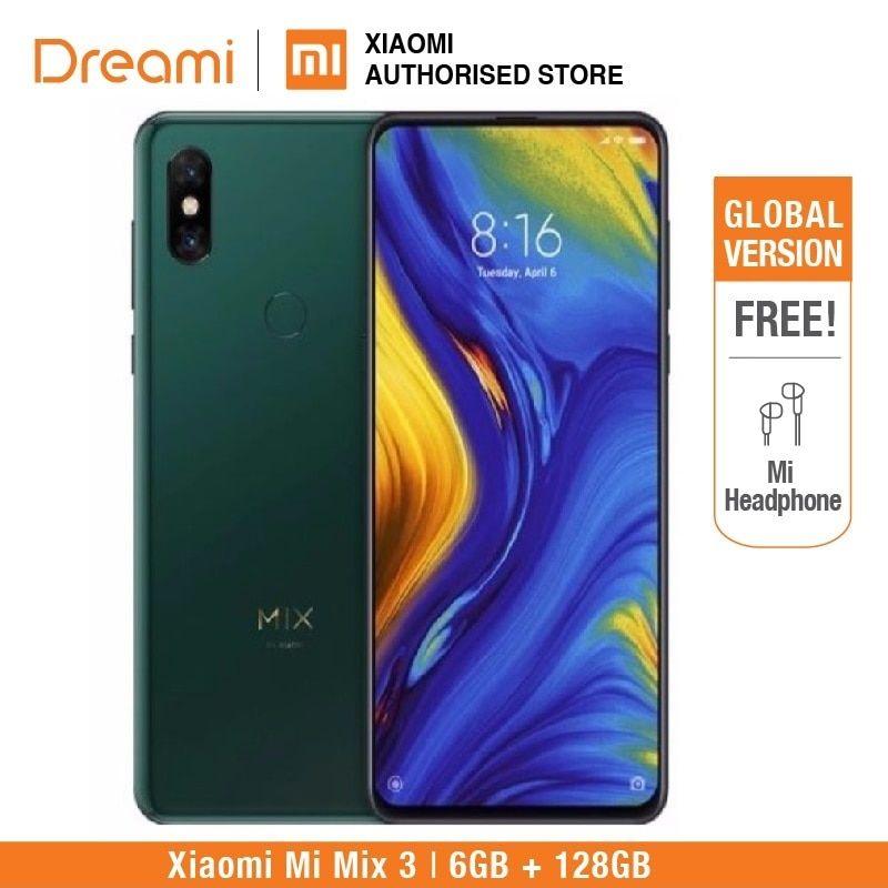 Global Version Xiaomi Mi Mix 3 128gb Rom 6gb Ram Brand New Amp Sealed Box