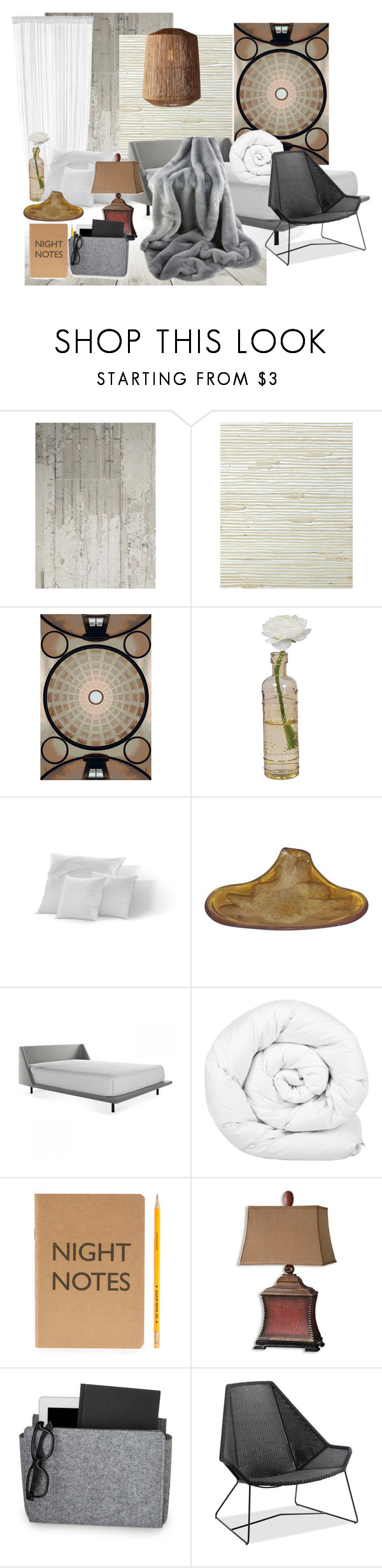 """""""BEDSIDE ESSENTIALS"""" by yesitsme123 ❤ liked on Polyvore featuring interior, interiors, interior design, home, home decor, interior decorating, NLXL, Serena & Lily, Opinion Ciatti and Cultural Intrigue"""