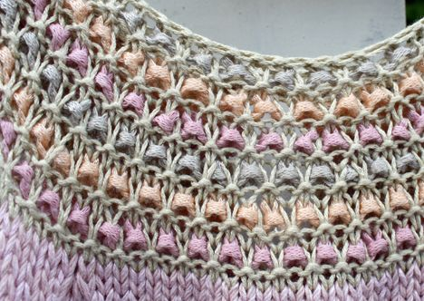 Pickles - Impress dress - free knitting pattern