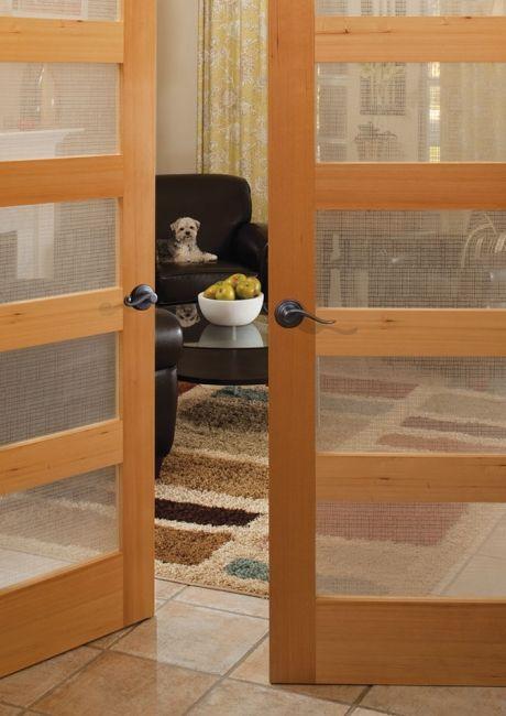 Teem Wholesale Inc French Doors 5 Panel Lite Hemlock With White Celcius Glass Spring Lake