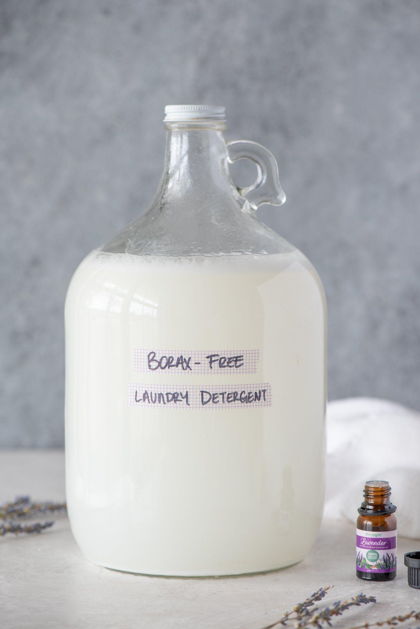Homemade Borax Free Laundry Detergent Recipe Homemade