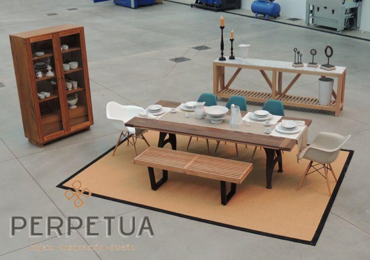 Perpetua muebles #perpetua #muebles #madera #mesa #silla #comedor ...