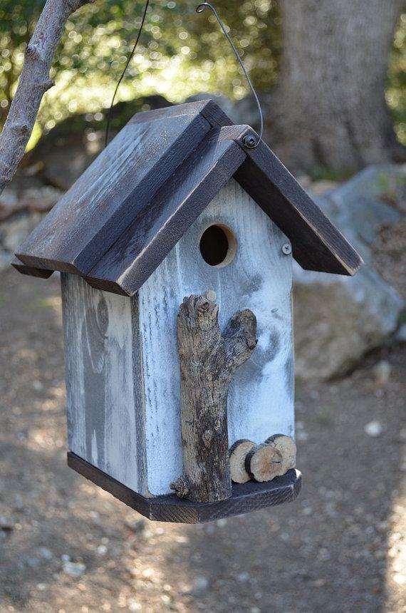 Rustic Functional Birdhouse - Outdoor Gardening Supply ...