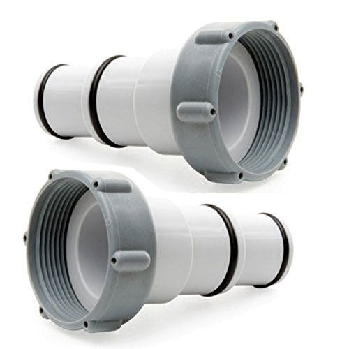 Intex Replacement Hose Adapter A W Collar For Threaded Connection Pumps Pair Intex Pool Intex Pool Vacuum Hose