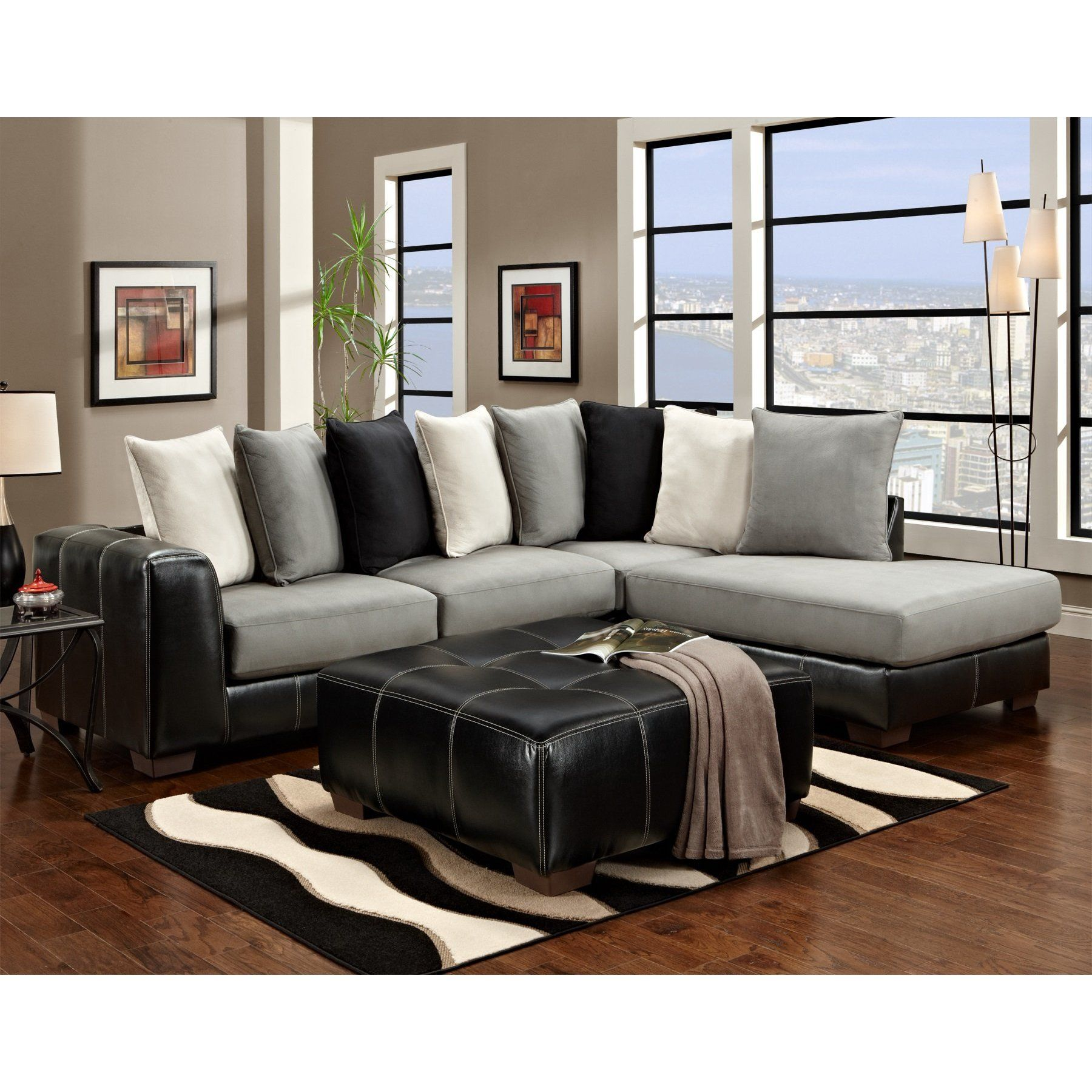 Chelsea Home Furniture Landon  Pc Sectional
