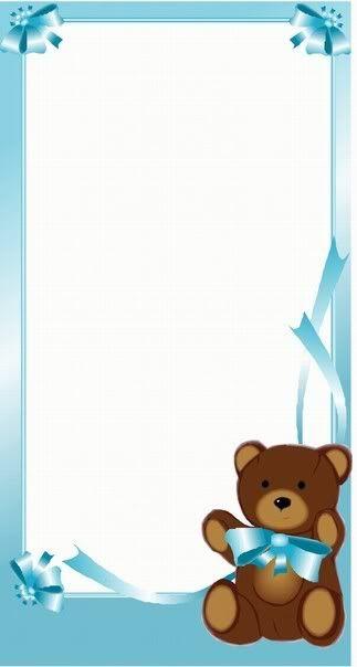 Baby Shower Baby Shower Zaid Tarjetas Para Imprimir