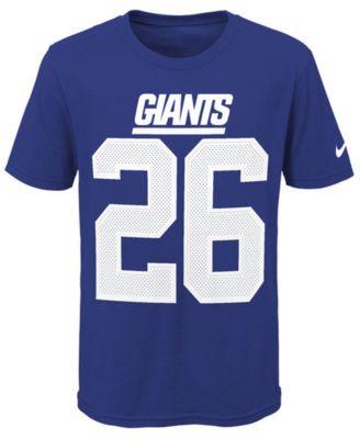 4ff28d21087 Nike Saquon Barkley New York Giants Pride Name and Number 3.0 T-Shirt