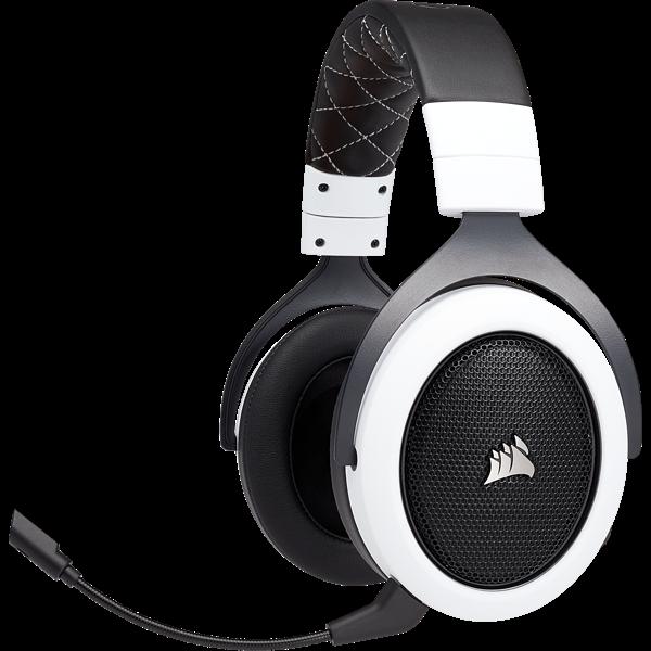 White Wireless Headset In 2020 Wireless Gaming Headset Headset Gaming Headset