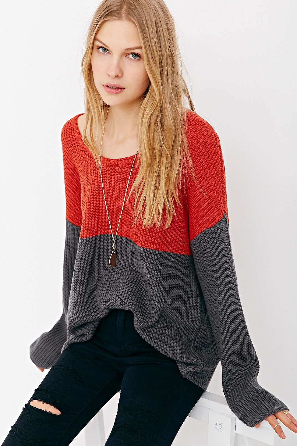 Mouchette Skyler Striped Sweater - Urban Outfitters