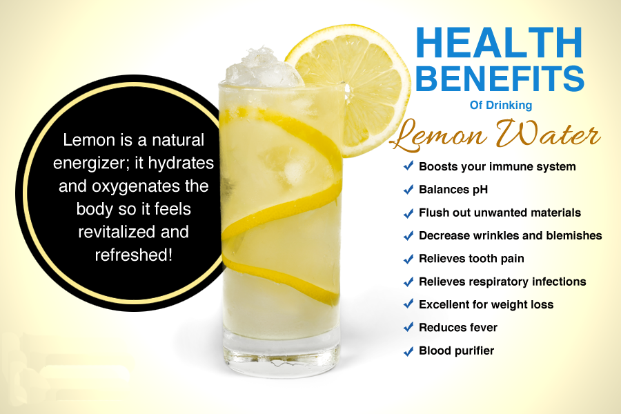 Why You Should ALWAYS Drink Lemon Water Before Bed Lemon