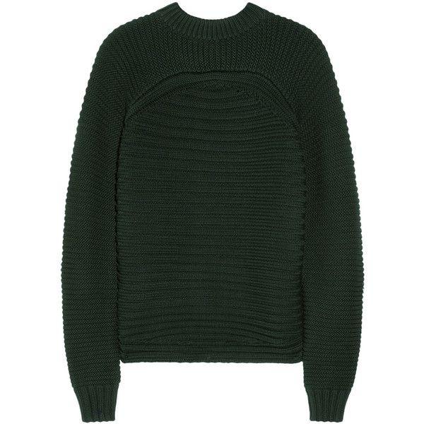 Cotton-blend sweater Alexander Wang Websites Sale Online Best Wholesale Sale Largest Supplier KrMjS0s