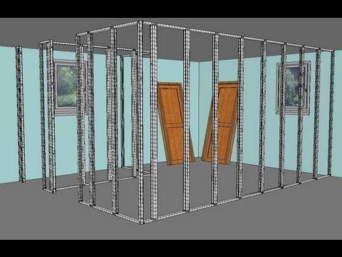 Cloisons en Placo-Plâtre BA13 comment faire ? - Bâtir sa maison à - Refaire Electricite Maison Cout