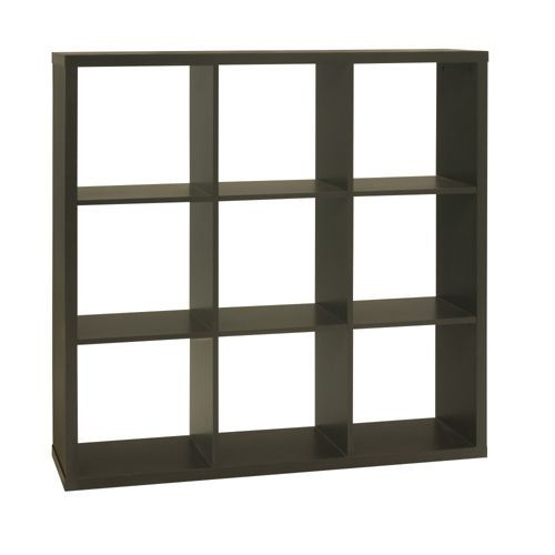 K9 Etagere 9 Cases Wenge Decoration Deco Maison Alinea