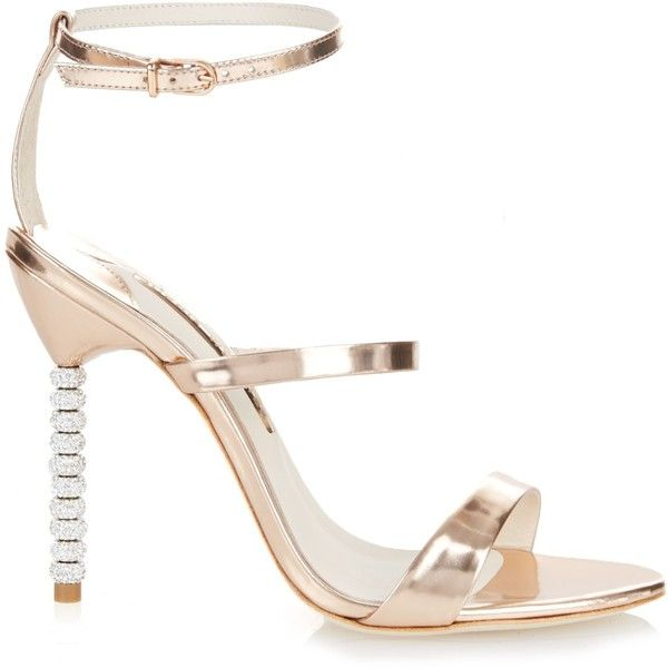 Outlet Cheap Prices Rosalind Crystal-embellished Metallic Leather Sandals - Pink Sophia Webster Buy Cheap Lowest Price Cheap Sale Limited Edition Cheap eE4vMJOrw