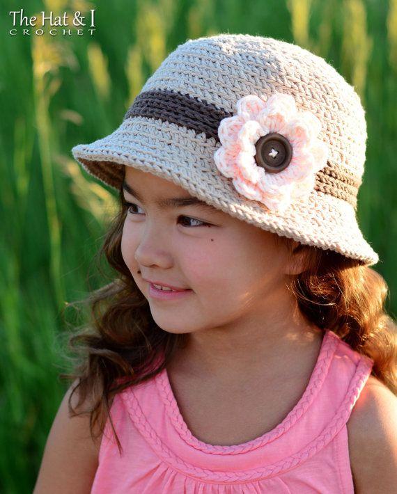 Crochet Hat Pattern Summer Romance Crochet Pattern For Womens