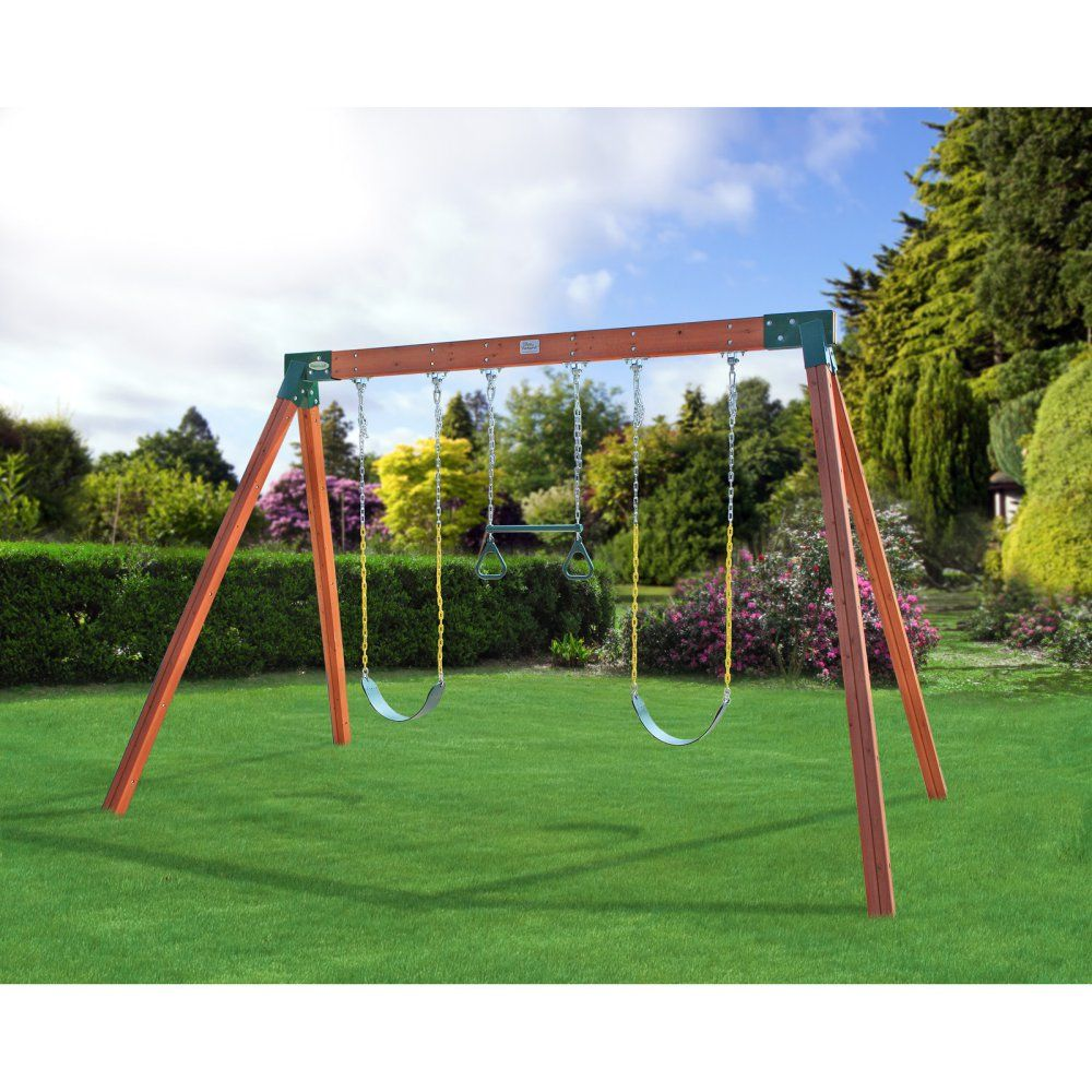 Swing set | Get Out & Play | Pinterest