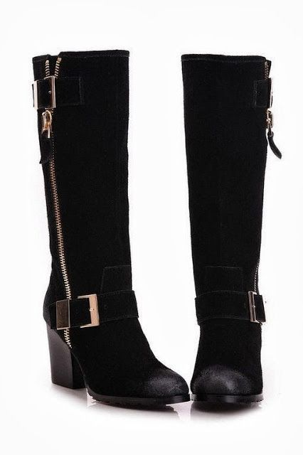 Black long boots | Long black boots
