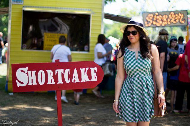 strawberry shortcake at Branford festival