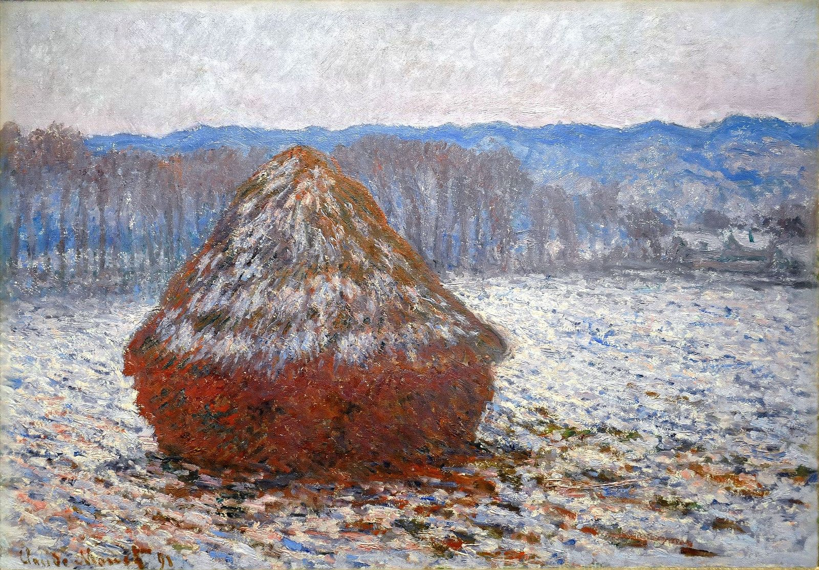 Grainstack, 1891. Claude Monet